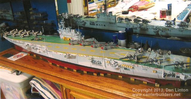 HMCS Bonaventure: 1:144 scale r/c: Part 6: Air Wing