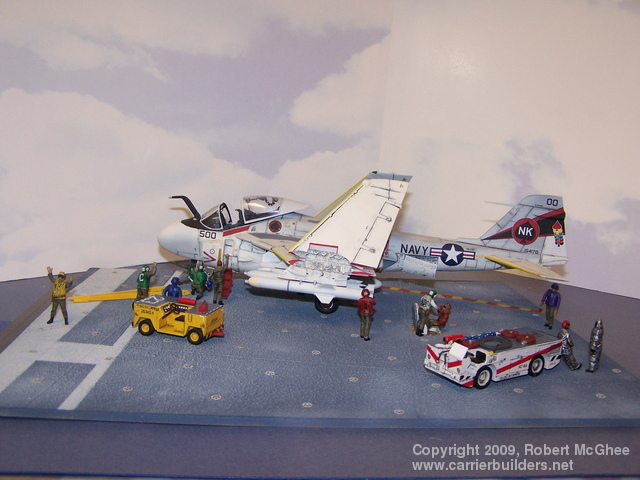 enough to win the bid on on e bay the carrier deck is the resin kit