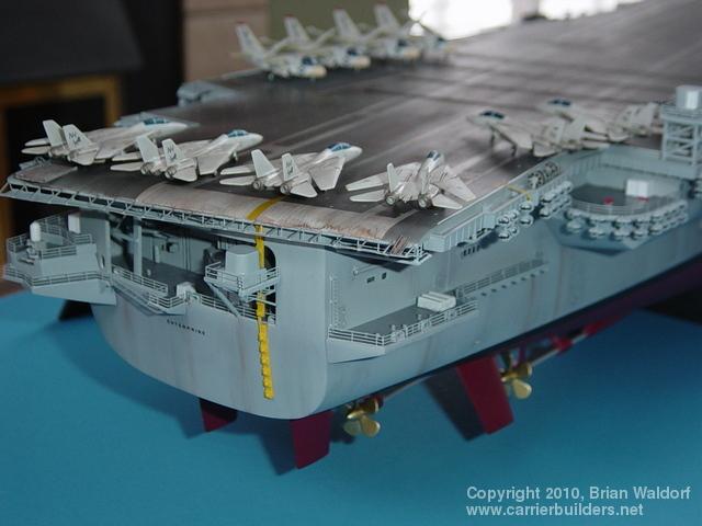 1 350 Enterprise Aircraft Carrier