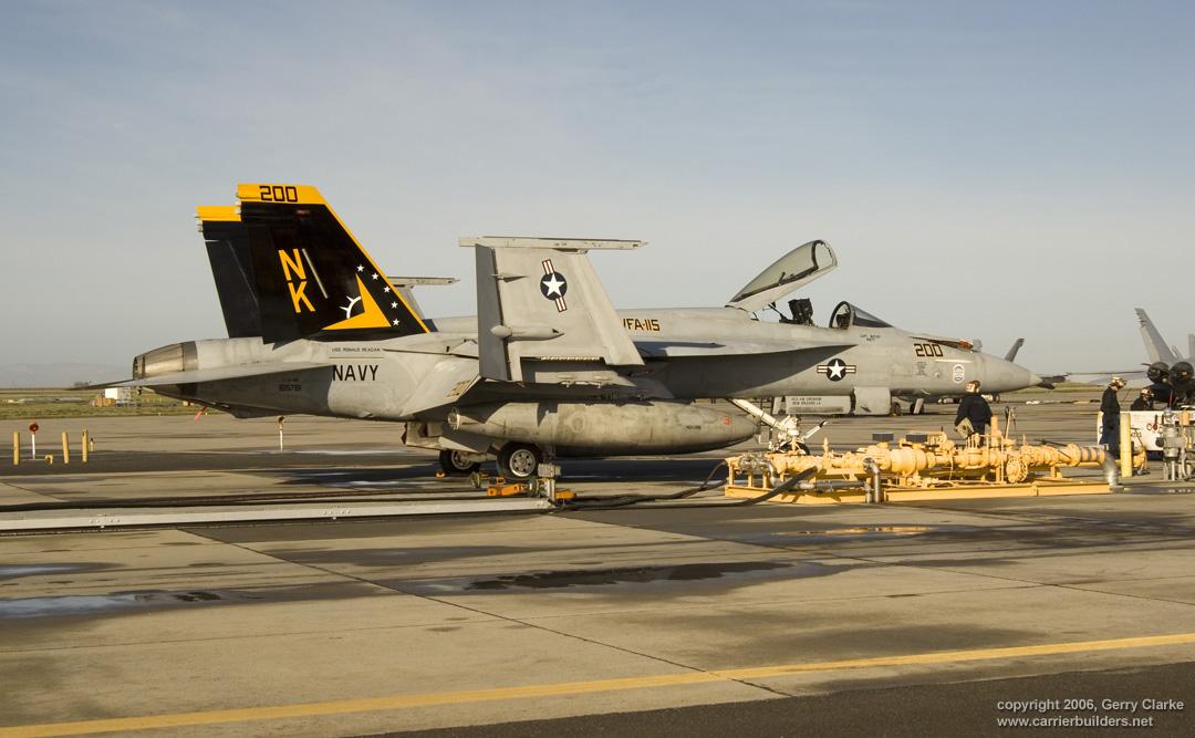 F A 18e Super Hornet 165781 Vfa 115 Eagles