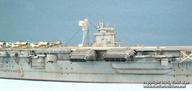Imperial Japanese Navy Aircraft Carrier Hiryu By Yufei Mao