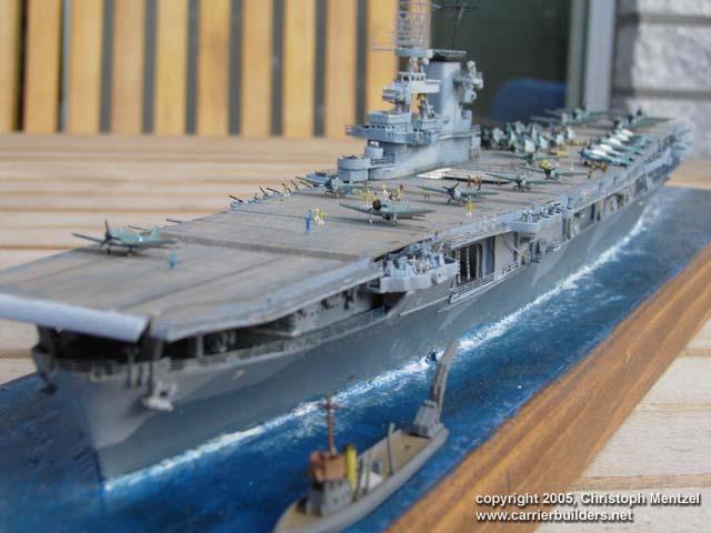 USS Wasp CV-7 by Christoph Mentzel